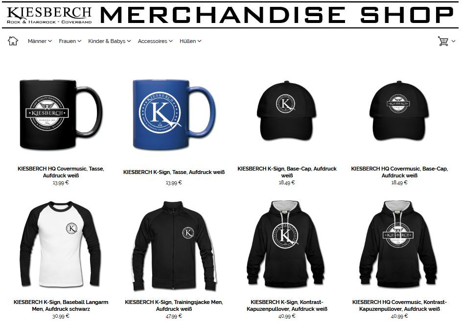 KIESBERCH Merchandise Shop