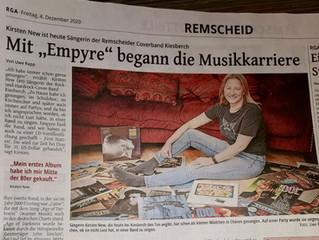 """""""Mit 'EMPYRE' begann die Musikkarriere"""" [RGA]"""