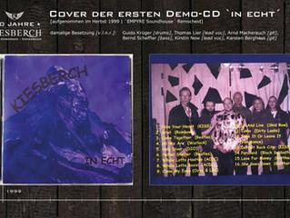 Cover der ersten Demo-CD `in echt´ [1999]