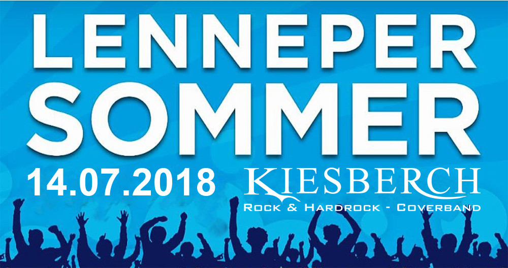 """KIESBERCH rockt den """"Lenneper Sommer 2018"""""""