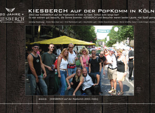 KIESBERCH auf der PopKomm 2003 in Köln