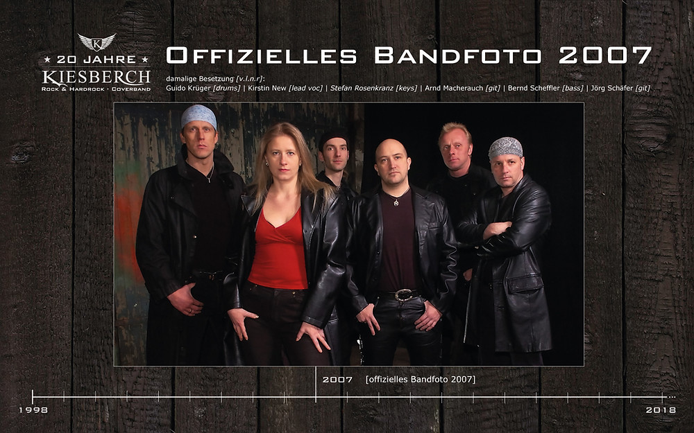 KIESBERCH   Offizielles Bandfoto 2007