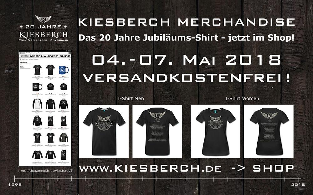 KIESBERCH | 20 Jahre Jubiläums-Shirt
