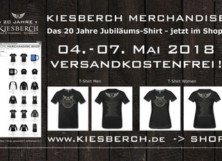 KIESBERCH Jubiläums-Shirt