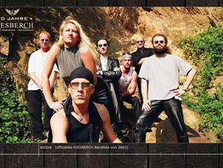 Offizielles KIESBERCH Bandfoto von 2002