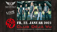 "Fr, 22.01.2021 |KIESBERCH live im ""Club Déjà Vu"""