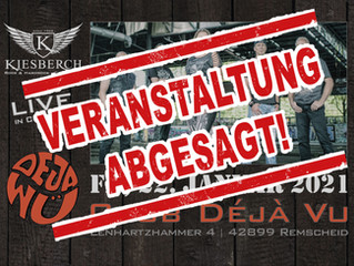 "[abgesagt] | Fr, 22.01.2021 |KIESBERCH live im ""Club Déjà Vu"""