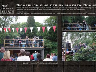 KIESBERCH beim Lindenhof Fest 2003