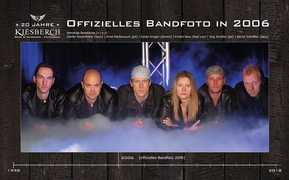Offizielles KIESBERCH Bandfoto in 2006