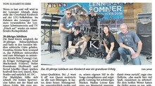 Rock in der Altstadt kam gut an | KIESBERCH sorgte am Wochenende für zahlreiche Besucher. [LA / LiB]