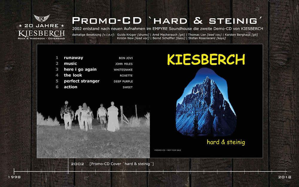 Promo-CD `hard & steinig´ [2002]
