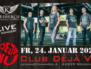 "Fr, 24.01.2020 |KIESBERCH live im ""Club Déjà Vu"""