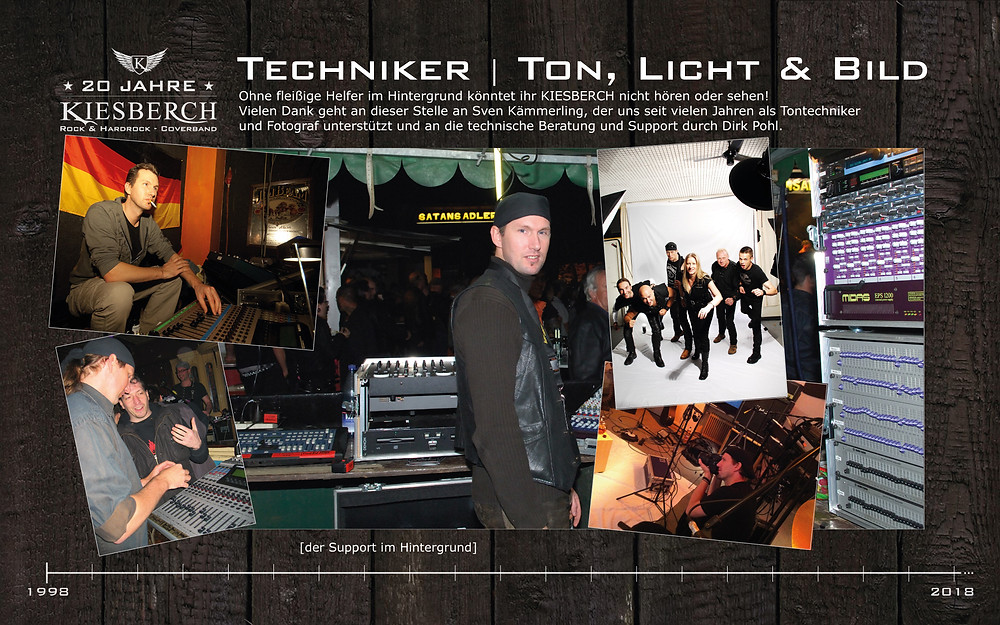Techniker | Ton, Licht & Bild