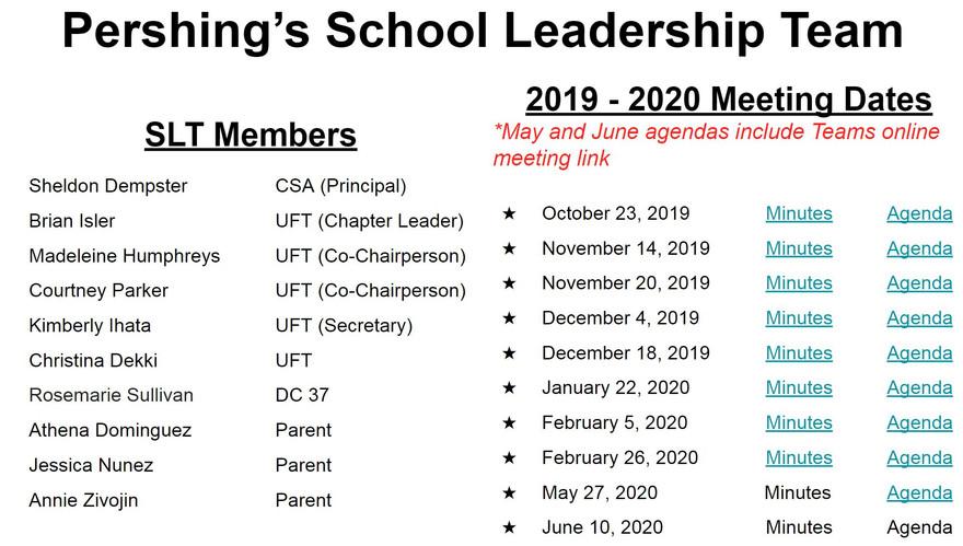 SLT 2019-2020