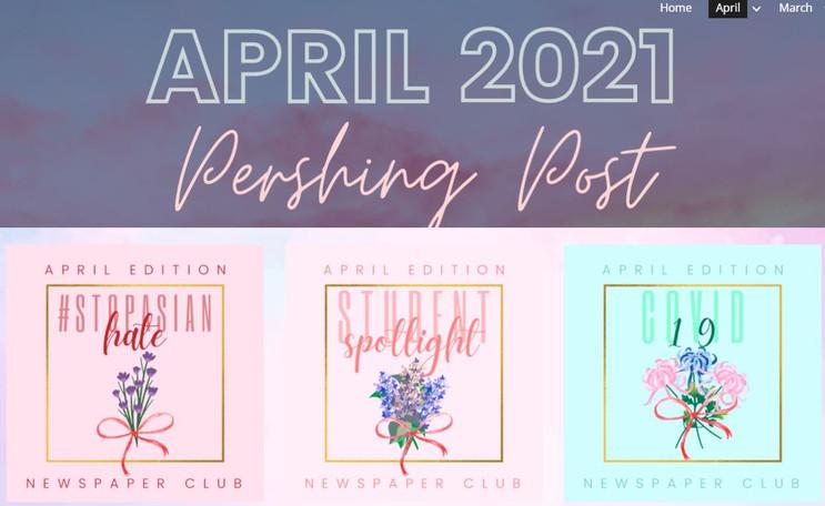 Pershing Post - April Edition