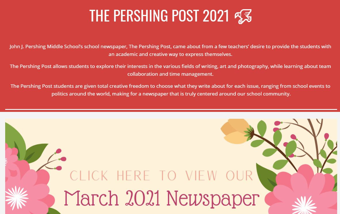 The Pershing Post 2021