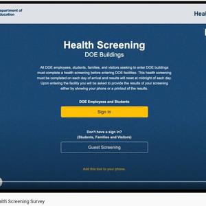 Health Screening How-To