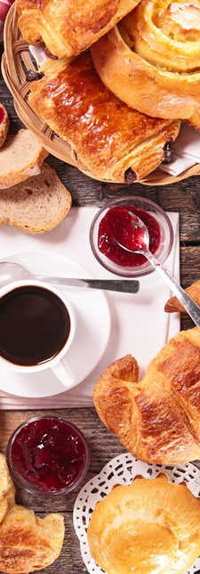 petit-déjeuner 7€ HT