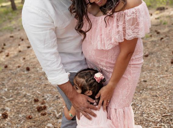 Colorado Springs maternity session