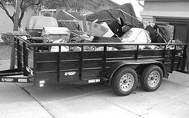 Construction debris removal service's