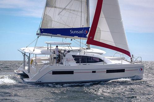 R&C 40 ft. Catamaran - 4.5+ Cabins / Max 10  (Deposit)