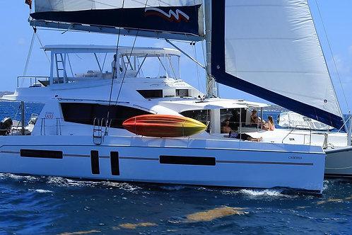 Luxury Fully-Crewed 58 ft. Catamaran - 5 Cabins / Max 10  (Deposit)