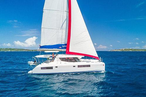 R&C 45' Catamaran - 4.5+ Cabins / Max 11  (Deposit)