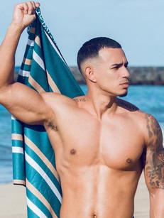 2eros:  Matching Sand-Free Beach Towel