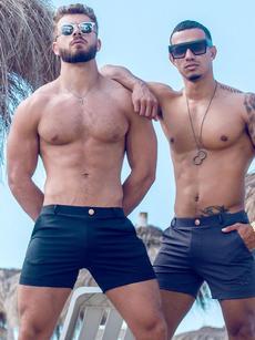 2eros:  V60 -  Black Bondi Shorts