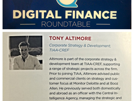 Commodore featured at Digital Finance Roundtable