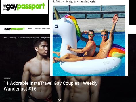 "ICYMI: Jason, Kyle, & Armada in ""Gay Passport"" magazine"