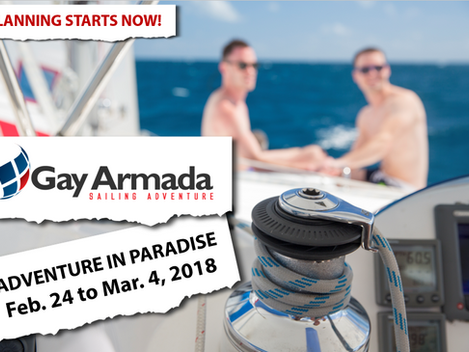2018 Gay Armada soft launch gets things rolling!