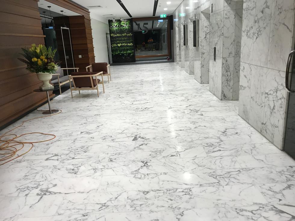 River Side Centre, Brisbane-Marble Polish