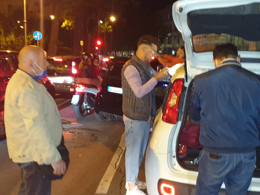 In Messina over the weekend a drunk 12-year-old ends up in hospital