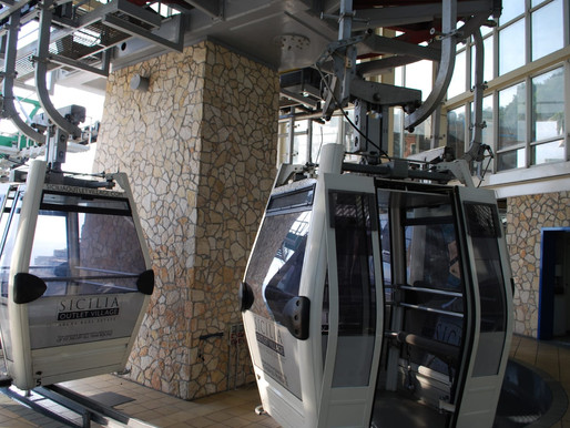 Taormina, work is underway to restart the cableway, a symbol of tourism