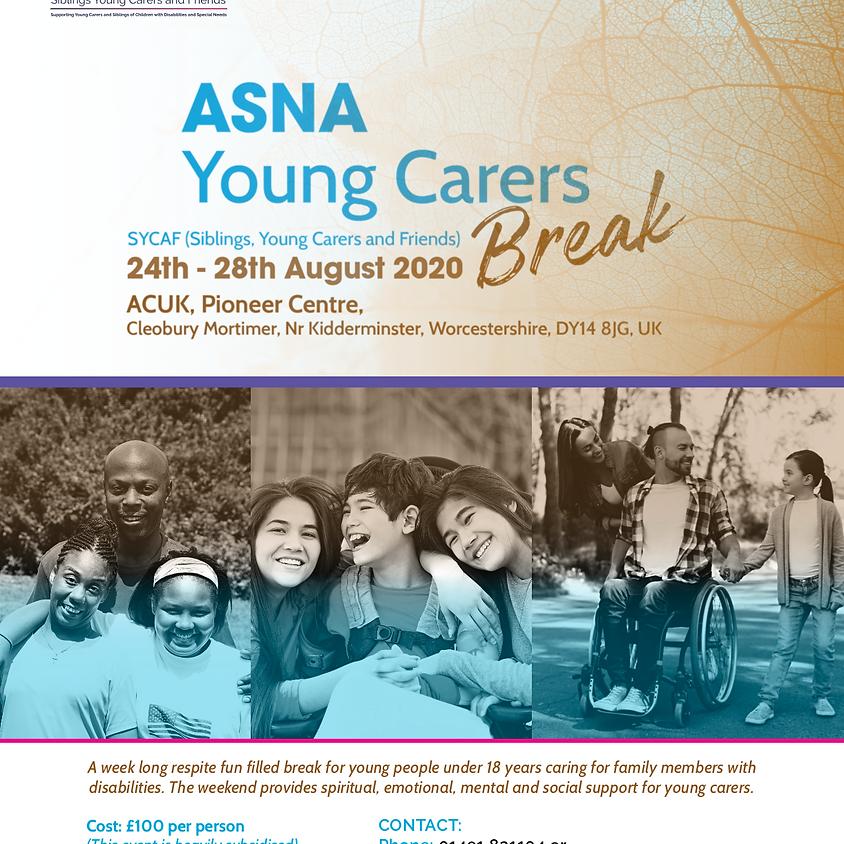 ASNA Young Carers Break