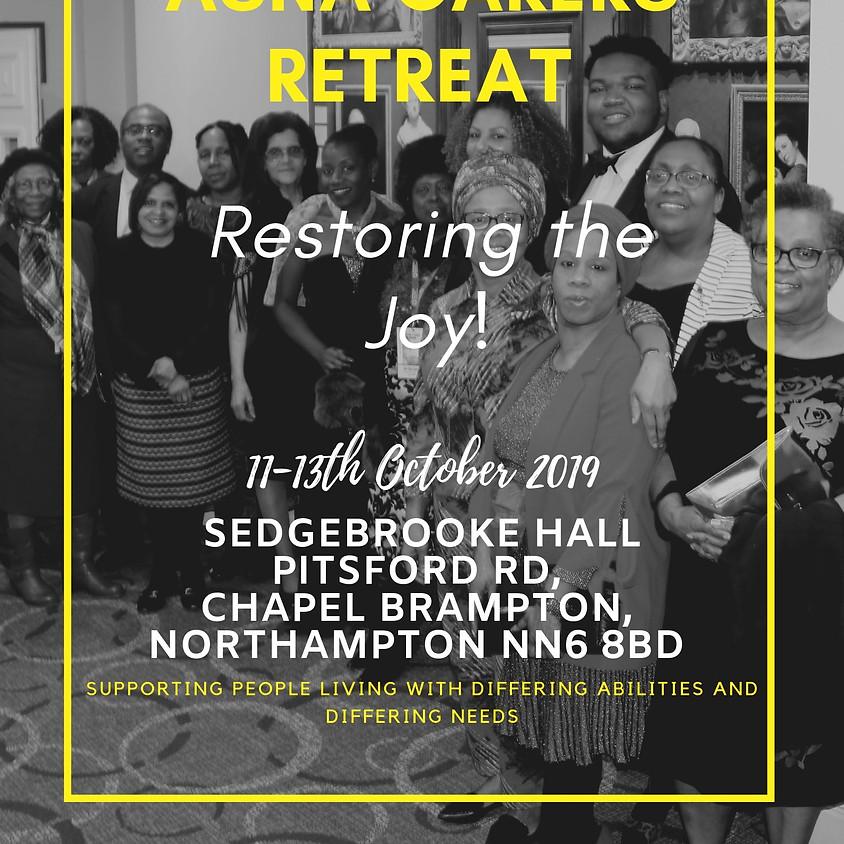 ASNA Carers' Retreat - Restoring the Joy!