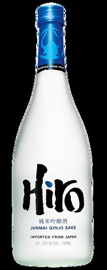 Hiro Junmai Ginjo Sake Blue 720ml