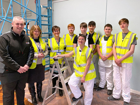 Bright future awaits young apprentices on village school community project