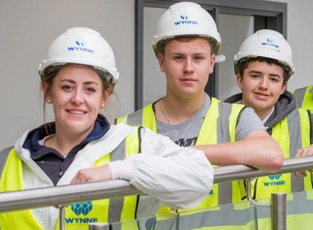 The future's bright for Curtis Painting Group's newest recruits