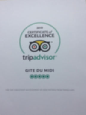 Trip Advisor Certificate of Excellence.j