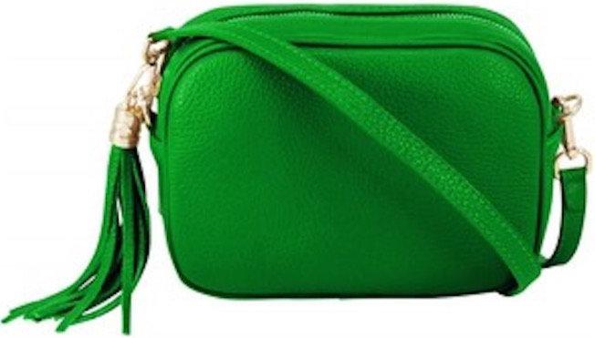 Vintage Green Soft Leather Bag