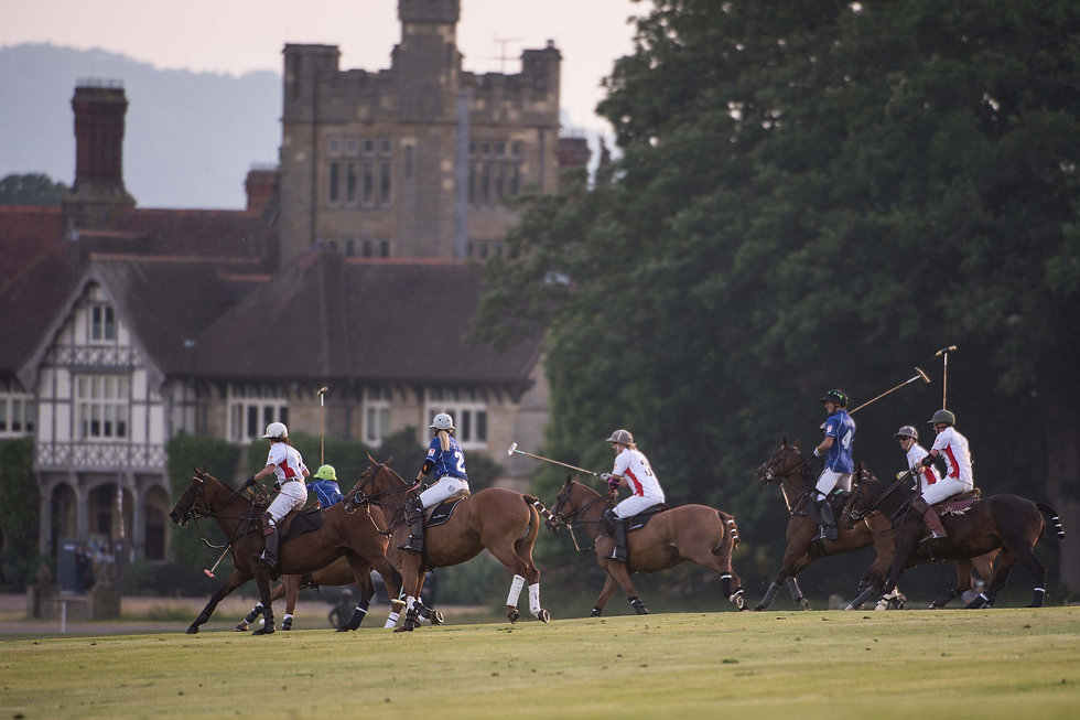 1st UK Sunset Polo by Vanessa Taylor- Co