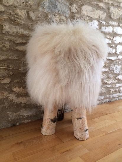Shaggy Sheep Stool