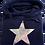 Thumbnail: Super Soft Cowl Neck Silver Star Hoody