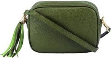 Olive Green Soft Leather Bag