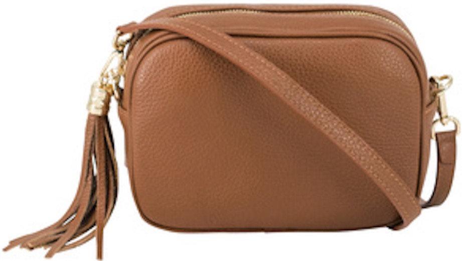 Dark Tan Soft Leather Bags