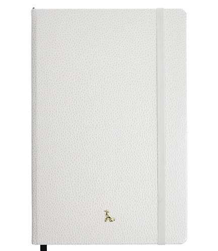 The Rollo Collection - A5 Hardy in Blossom White (Pearlescent)