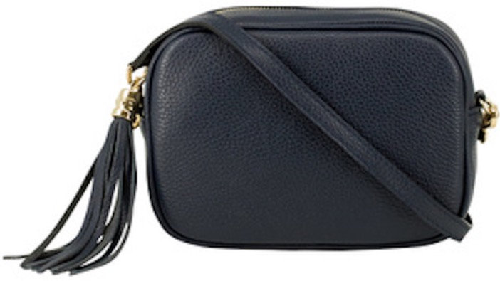 Classic Navy Soft Leather Bag