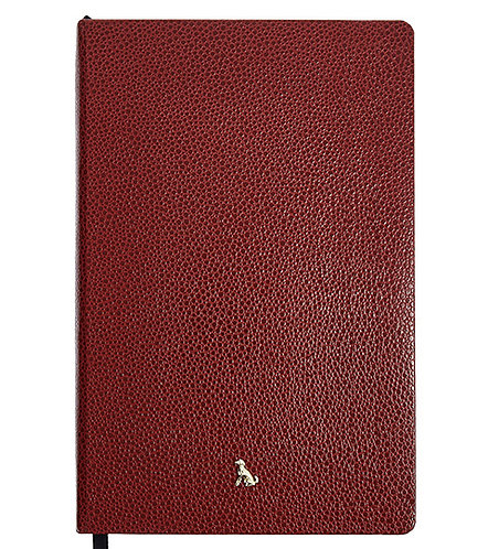 The Rollo Collection - A5 Softie in Burgundy Red